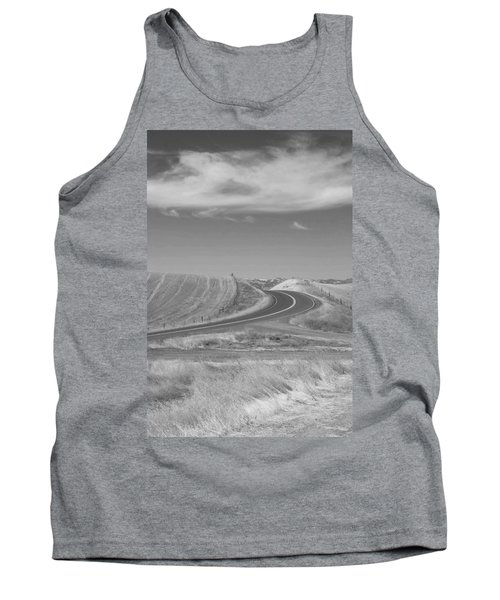 Tank Top featuring the photograph The Quiet Road by Kathleen Grace