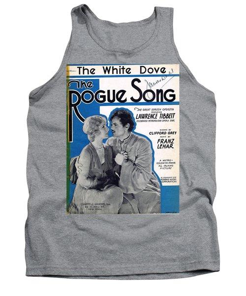 The White Dove Tank Top