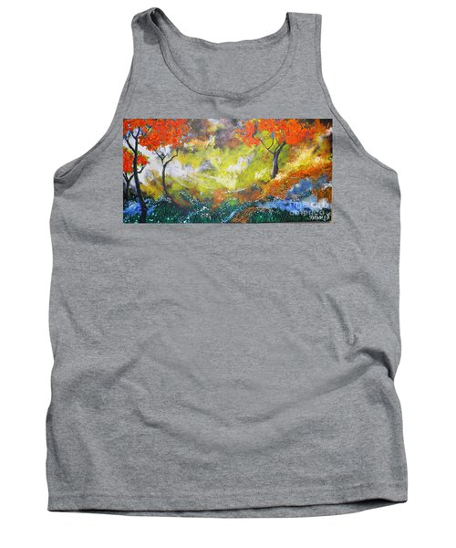Through The Myst Tank Top