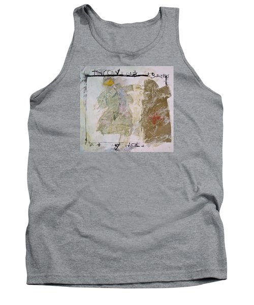 Throwing Stones At My World Tank Top