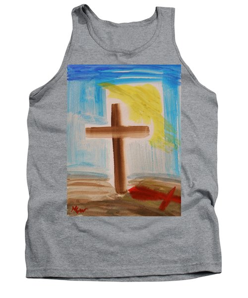 Tim Tebow's Cross-easter Monday Tank Top