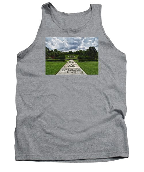 Time Is Wealth Tank Top