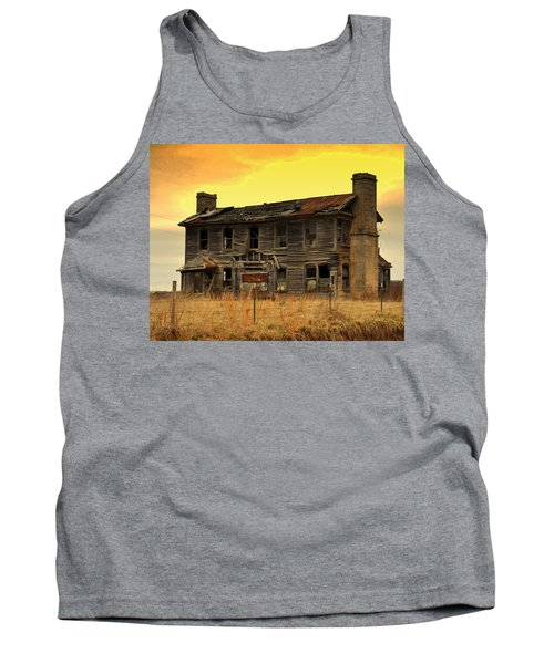 Tank Top featuring the photograph Times Past by Marty Koch