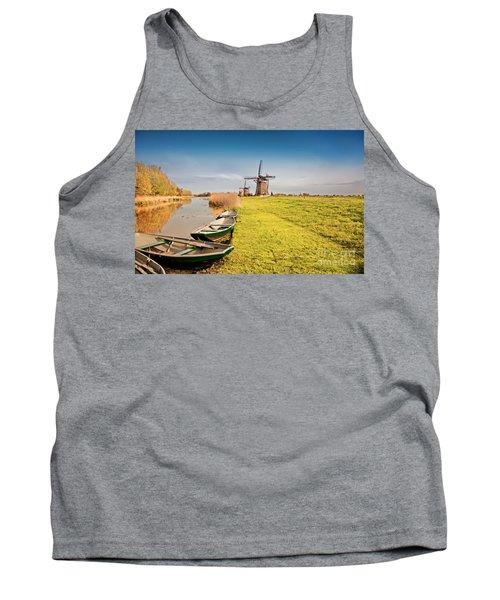 Traditional  Dutch Landscape Tank Top