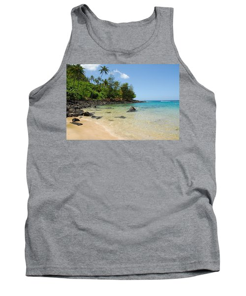 Tank Top featuring the photograph Tropical Paradise by Lynn Bauer