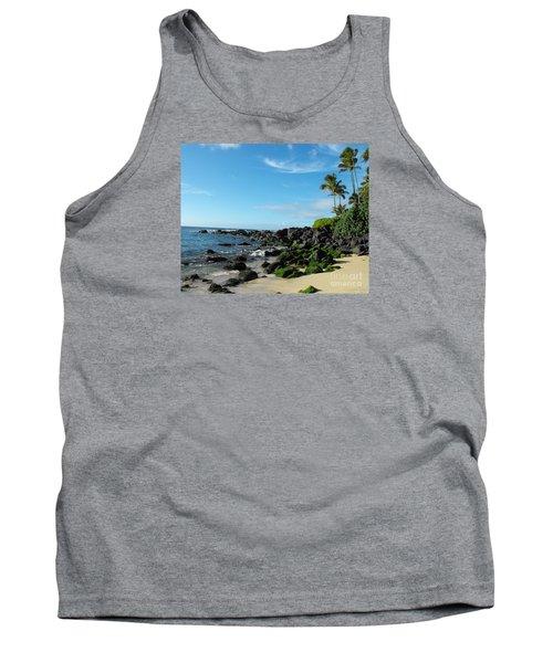 Turtle Beach Oahu Hawaii Tank Top
