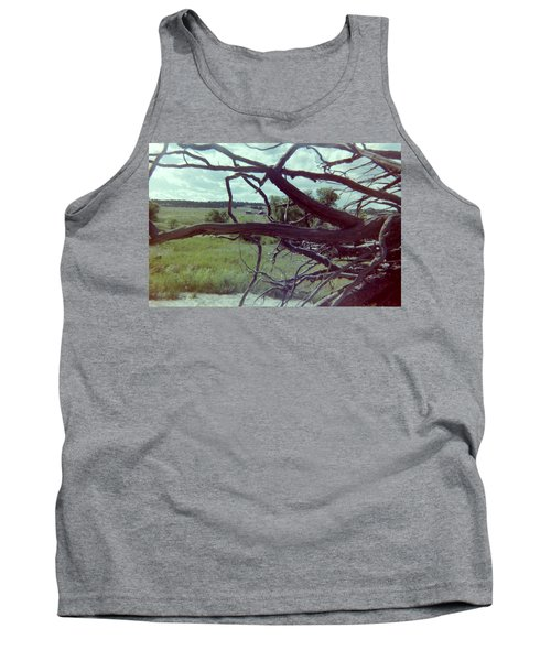 Tank Top featuring the photograph Uprooted by Bonfire Photography