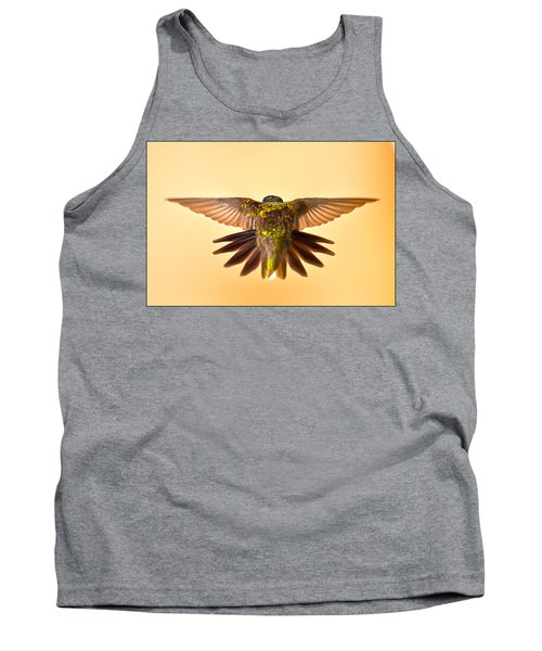 Tank Top featuring the photograph Usaf Hummingbirds Wings by Randall Branham