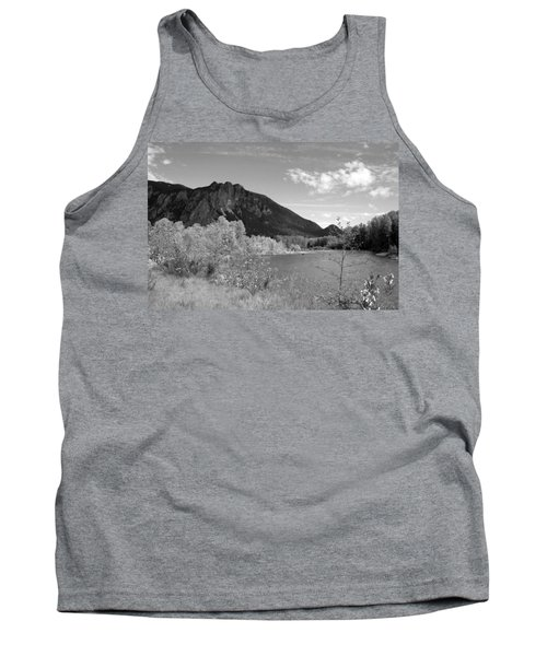 Tank Top featuring the photograph View From The River by Kathleen Grace
