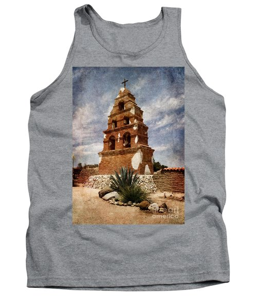 View Of The San Miguel Bell Tower Tank Top