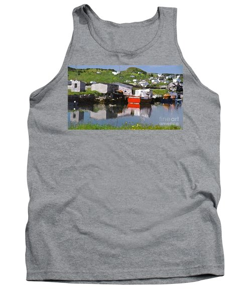Tank Top featuring the photograph Villiage by Lydia Holly