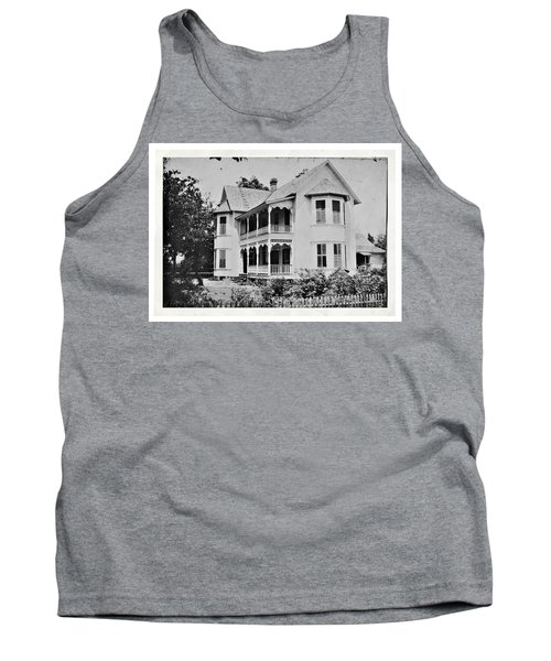 Vintage Victorian House Tank Top
