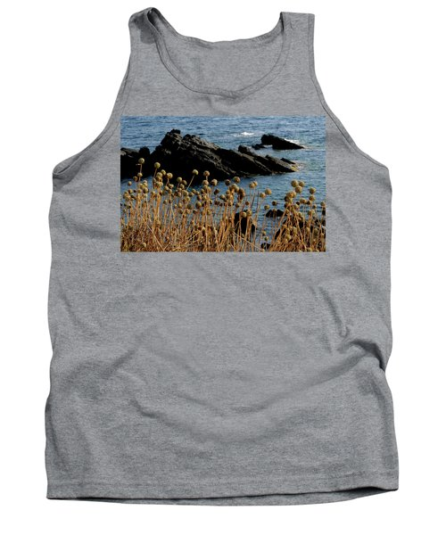 Tank Top featuring the photograph Watching The Sea 1 by Pedro Cardona