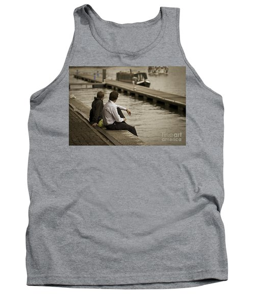 Watching The World Go By Tank Top