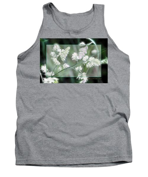 Tank Top featuring the photograph Weeds by EricaMaxine  Price