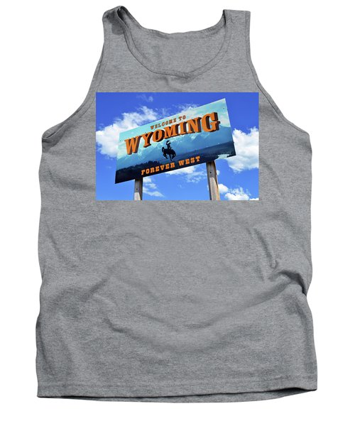 Welcome To The West Tank Top