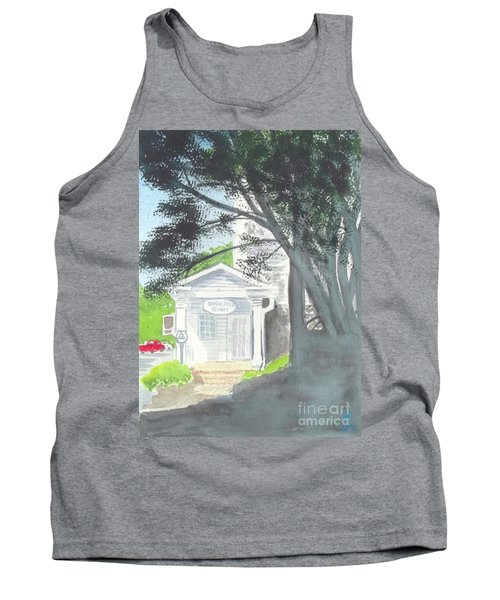Tank Top featuring the painting Wellers Carriage House 1 by Yoshiko Mishina