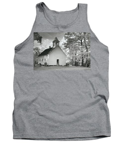 Tank Top featuring the photograph Wildwood Church by Mary Almond