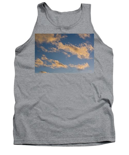 Tank Top featuring the photograph Wind Driven Clouds by Mick Anderson