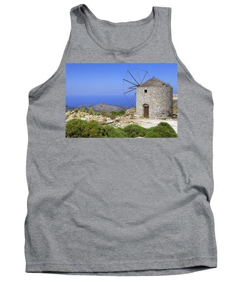 wind mill Naxos Tank Top