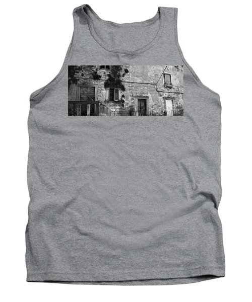 Tank Top featuring the photograph Crumbling In Croatia by Andy Prendy