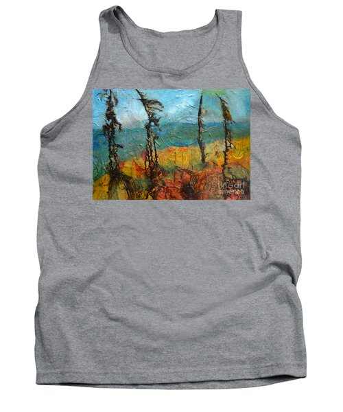 Windswept Pines Tank Top