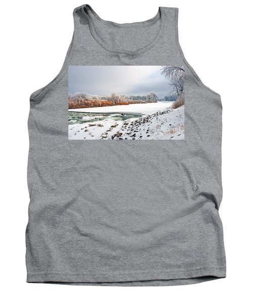 Winter Red River 2012 Tank Top