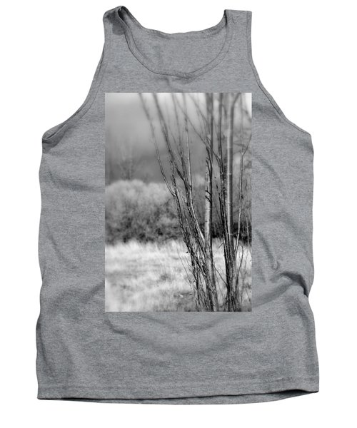 Tank Top featuring the photograph Winters Branch by Kathleen Grace