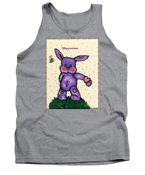 Epilepsy Awareness Bunny Tank Top