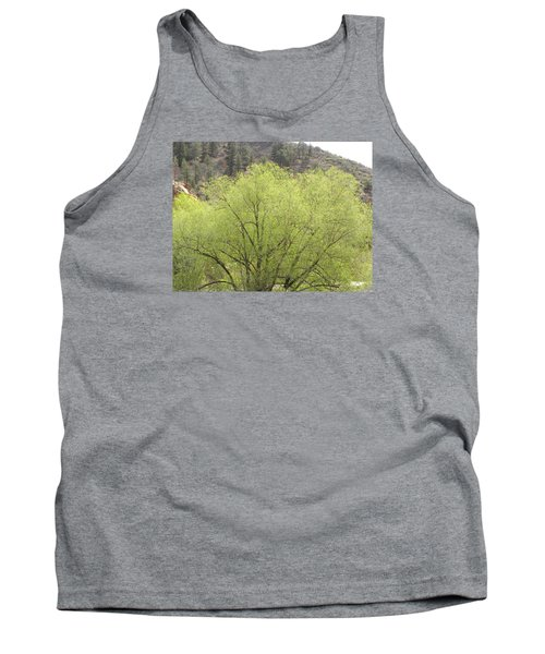Tree Ute Pass Hwy 24 Cos Co Tank Top