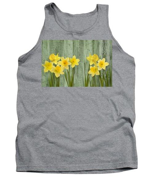 Fresh Spring Daffodils Tank Top