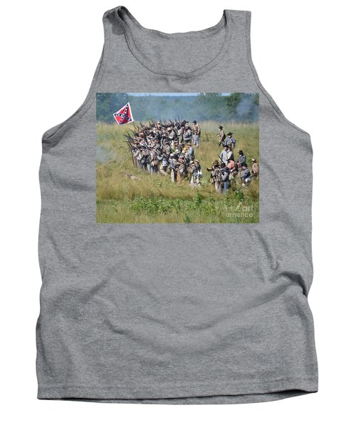 Gettysburg Confederate Infantry 9015c Tank Top