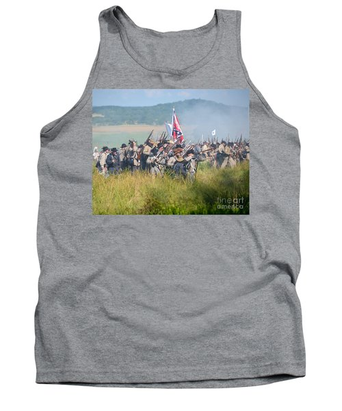 Gettysburg Confederate Infantry 9214c Tank Top