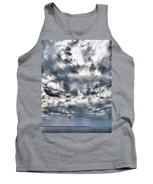 Tank Top featuring the photograph  Mental Seaview by Jouko Lehto