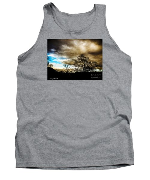 Storm  Coming  Tank Top by MaryLee Parker