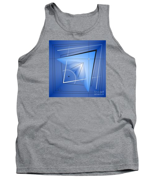 Tank Top featuring the digital art  Structural Limitations Of Thought by Leo Symon