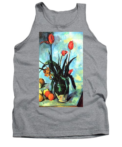 Tulips In A Vase Tank Top