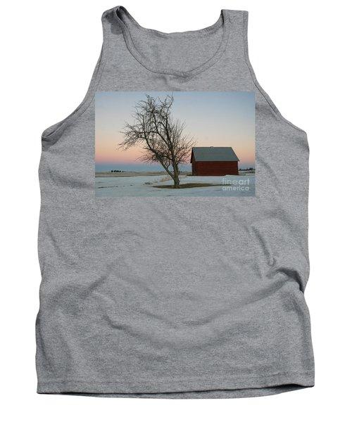Winter In Rural America Tank Top