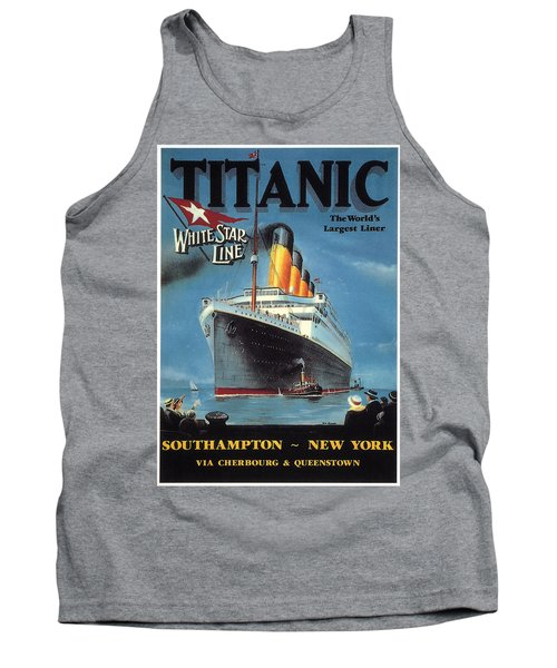 0065186 Tank Top by Titanic