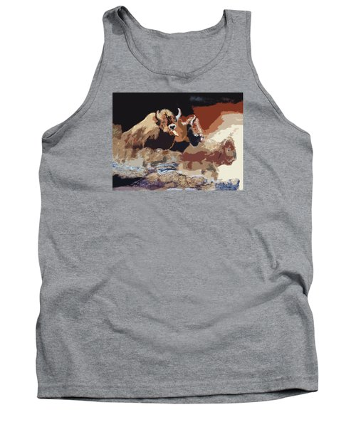 010316 Ancient Buffalo Hunt Tank Top