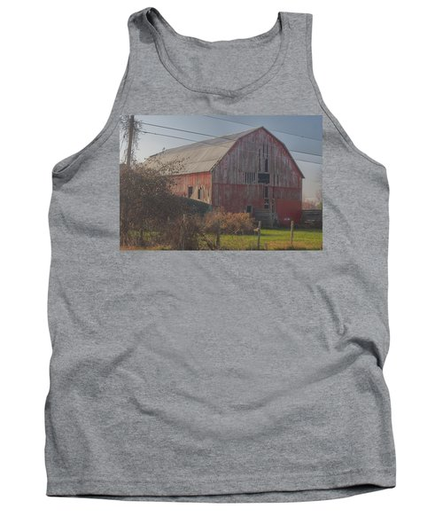 0153 - Dodge Road Red I Tank Top