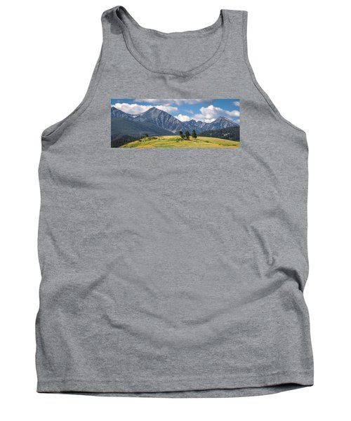 #0491 - Spanish Peaks, Southwest Montana Tank Top