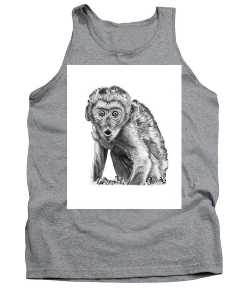 057 Madhula The Monkey Tank Top by Abbey Noelle