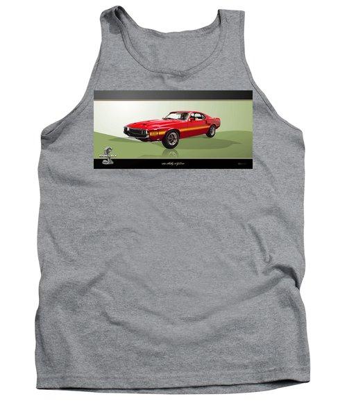 1969 Shelby V8 Gt350  Tank Top