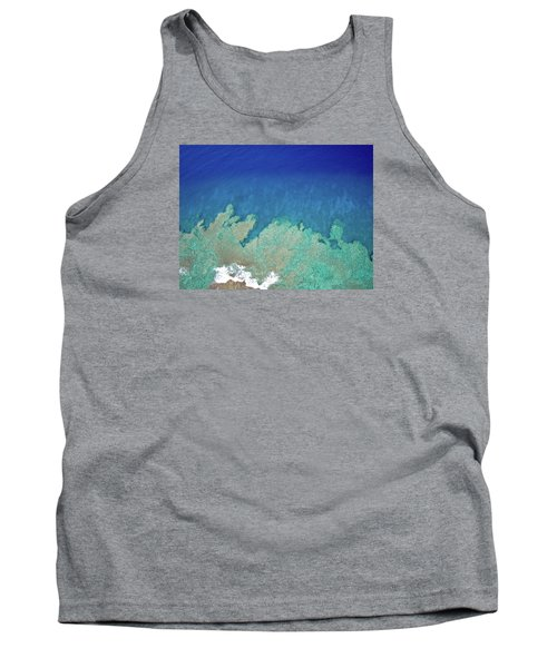 Abstract Aerial Reef Tank Top