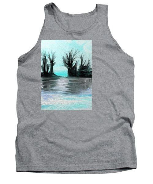 Art Abstract Tank Top by Sheila Mcdonald