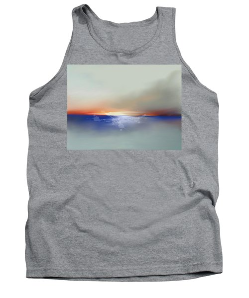 Abstract Beach Sunrise  Tank Top by Anthony Fishburne