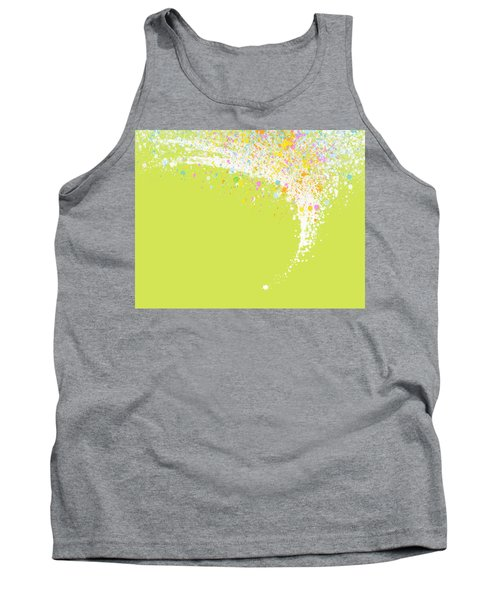 Abstract Curved Tank Top