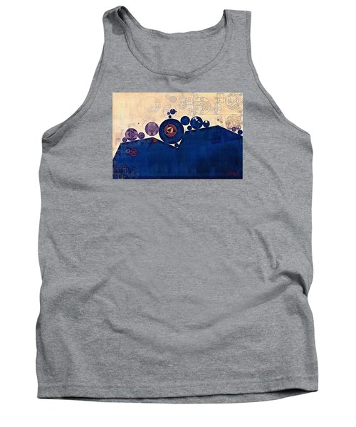 Abstract Painting - Champagne Tank Top