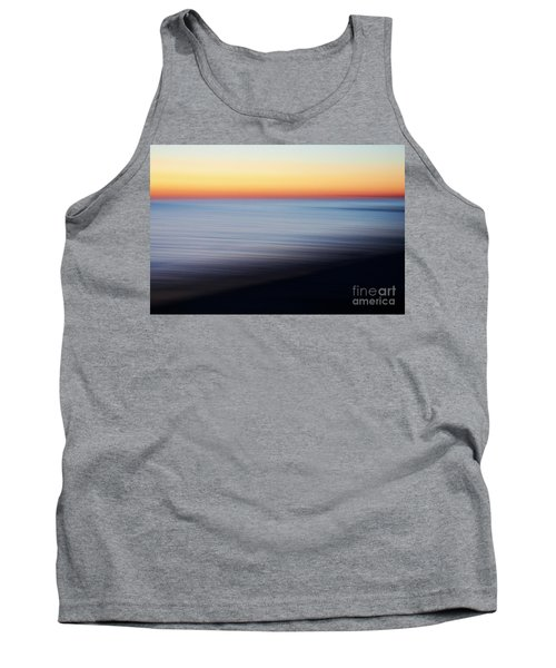 Abstract Sky And Water Tank Top